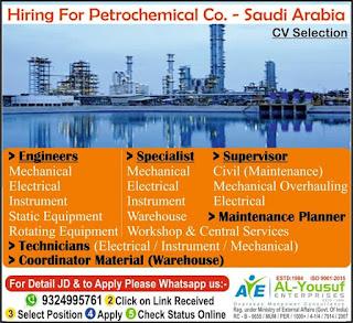 Petrochemical Company in Saudi Arabia