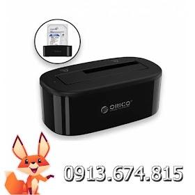 Đế ổ cứng Orico 6218US3 cho ổ cứng 3.5 và 2.5in