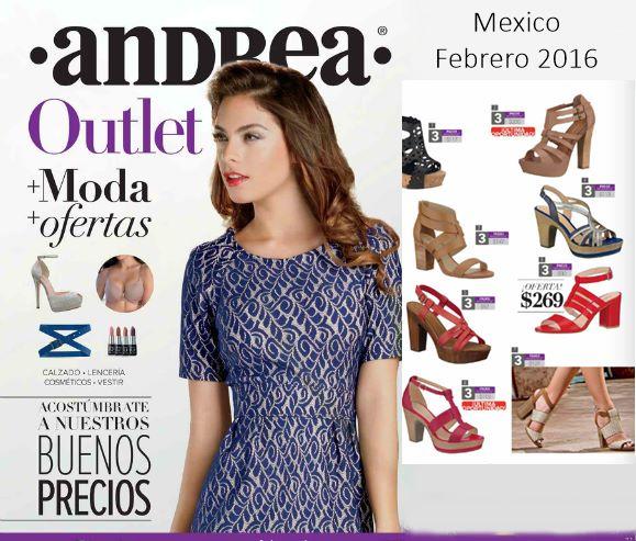 Outlet Andrea catalogo febrero 2016  e97dd79eacb