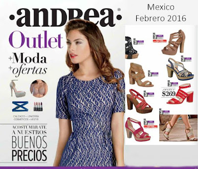 catalogo andrea outlet febrero 2016