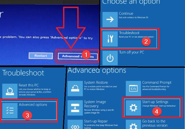 ثلاث طرق مختلف للدخول إلى Safe Mode