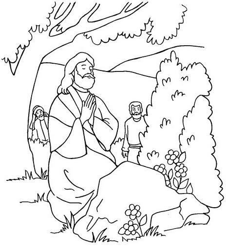 DESENHOS BÍBLICOS PARA COLORIR PINTAR IMPRIMIR XII