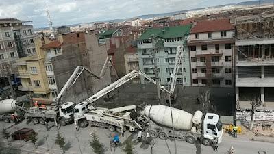 temel betonu, radye beton, radye temel, kütahya radye temel