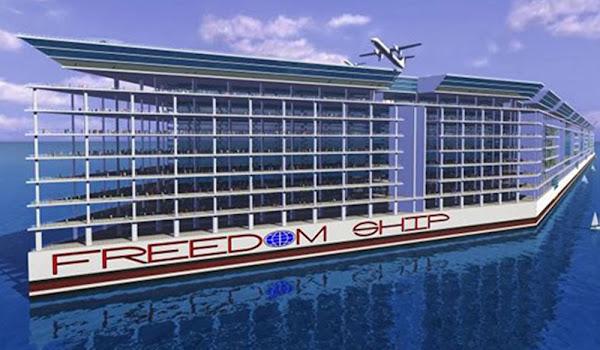 Freedomship Yüzen Şehir