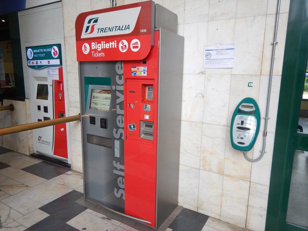 Como comprar bilhetes de trem na Itália