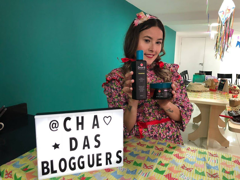Arraiá - festa junina Chá das Blogguers