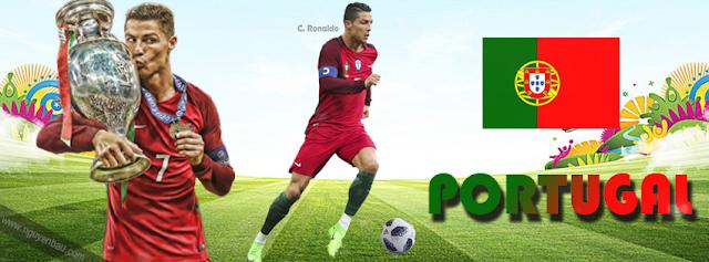 PSD Ảnh Bìa Ronaldo - Bồ Đào Nha Portugal