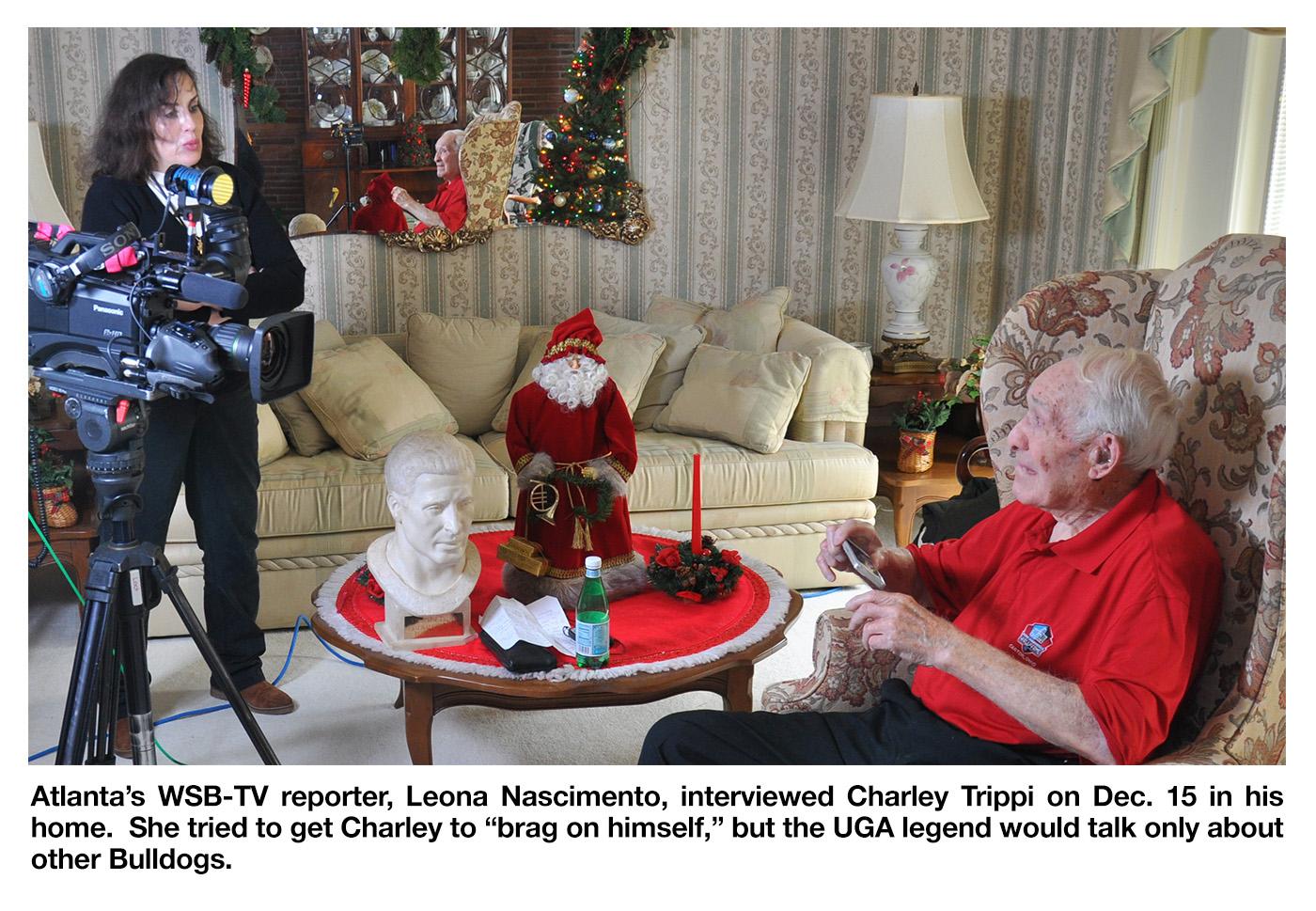 DinkNeSmith com: MVP Charley Trippi recalls 1943 Rose Bowl