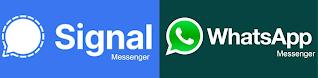 WhatsApp vs Signal app