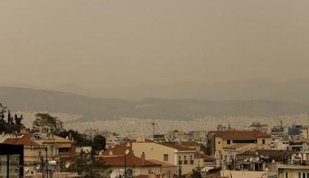 Σύστημα μέτρησης της σκόνης από τη Σαχάρα