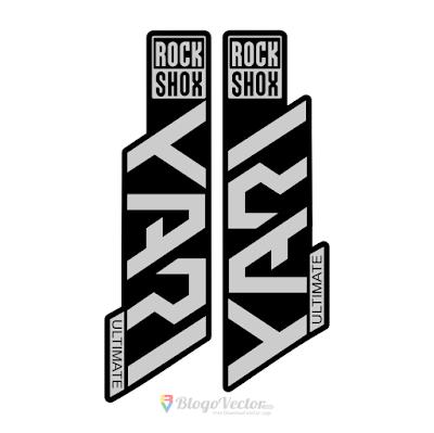 YARI Ultimate Rock Shox Logo Vector