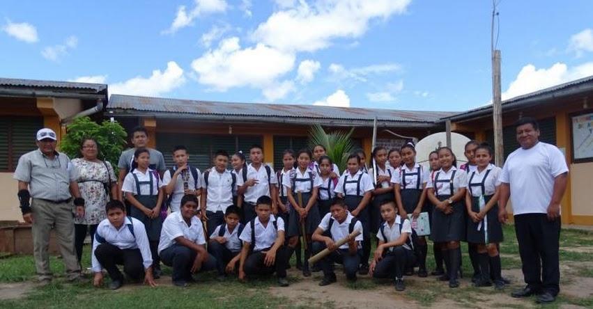 Escolares indígenas de Loreto y Ucayali llegarán a sus colegios en lanchas