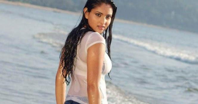 Full Buff Kannada Actresses Ramya Blue-7882