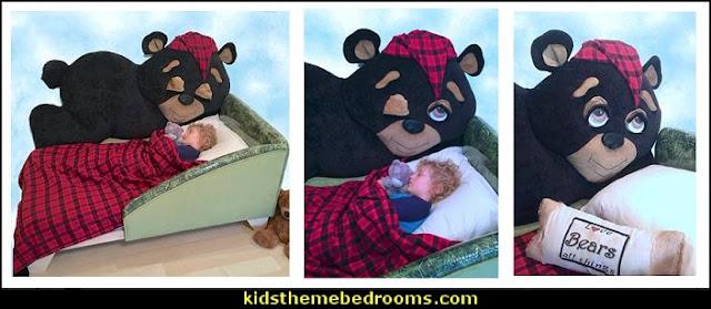 toddler woodland bedroom woodland bear bed  toddler