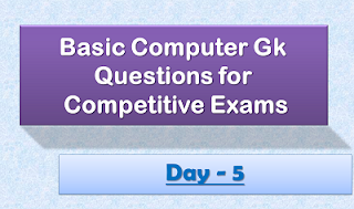 Computer Gk Questions - Day5