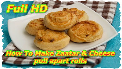How To Make Zaatar & Cheese pull-apart rolls