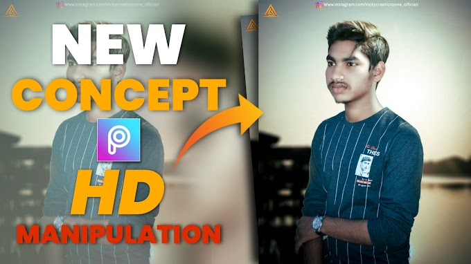 New concept picsart MANIPULATION |picsart and lightroom cc |vicky creation zone 2021