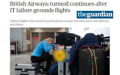 GlitchReporter.com: Guardian story on British Airlines Outage 2017