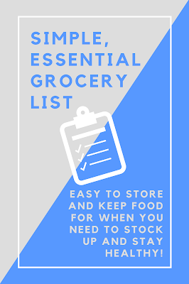 Download your stock-up grocery list here!