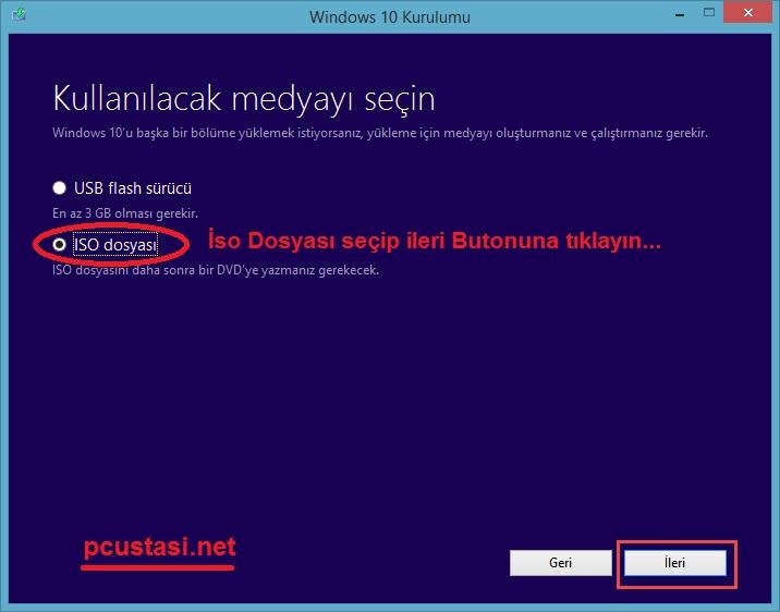 windows-10-iso-dosyası