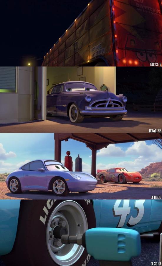 Cars 2006 BluRay 720p 480p Dual Audio Hindi English Full Movie Download