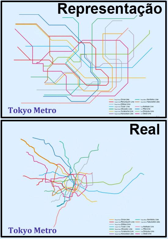 Mapas de Metros do mundo - Toquio