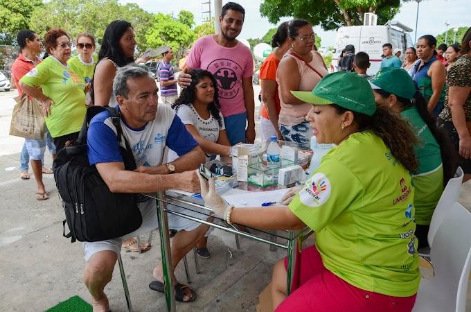 Ação social reúne serviços gratuitos na Arena da Amazônia