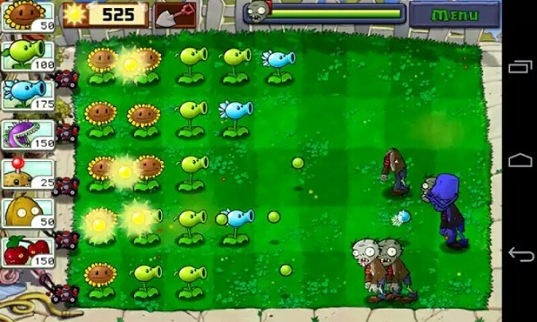 menghalau serangan zombie dengan tanaman