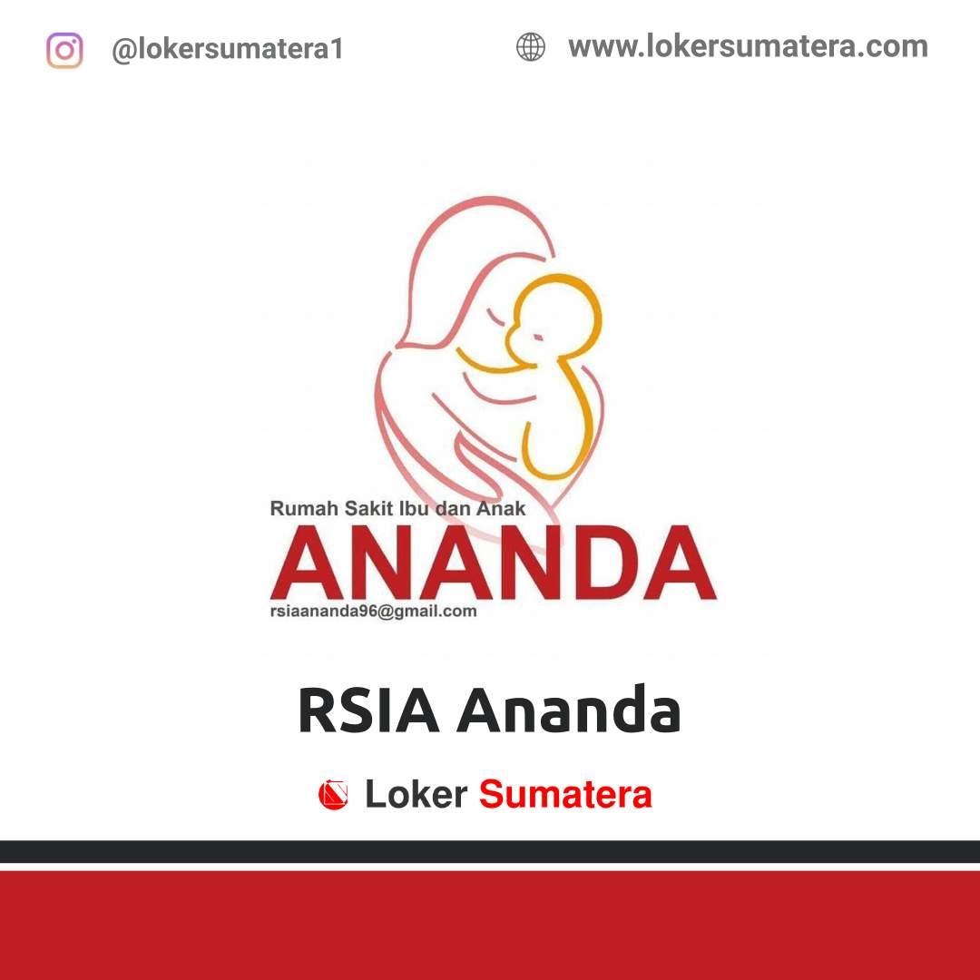 Lowongan Kerja Solok: RSIA Ananda November 2020