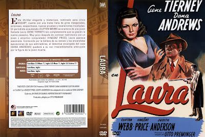 Carátula, Cover, Dvd: Laura | 1944 / Download Classic Movies