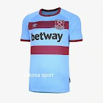 Jual Jersey West Ham Away 2020-2021