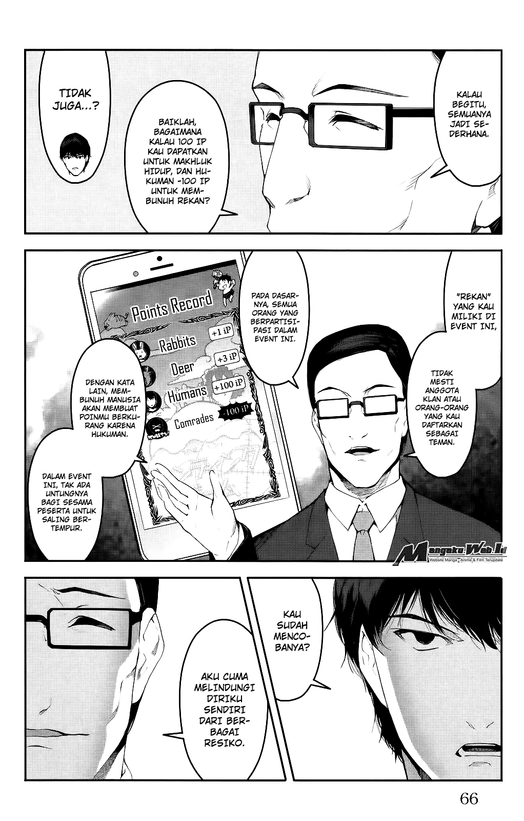 Darwin's Game Chapter 38-18