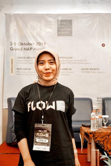 Content Creator Solo, Sara Neyrhiza di Future Local Advertising Workshop Bekraf Festival 2019