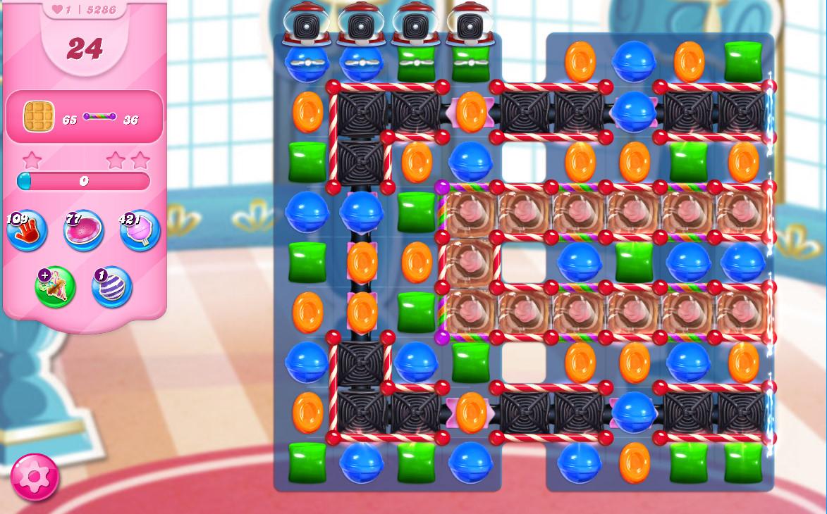 Candy Crush Saga level 5286