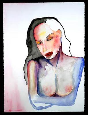 Boy Magnet, pintura de Marilyn Manson.