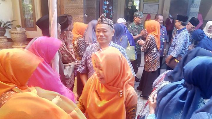 Pelda Wahidin Hadiri Silaturahmi  dan Halal Bihalal Keluarga Besar Dinas KB, PP dan PA Cilacap