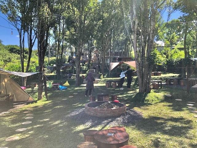 panorama atanapi coffee camp bandung