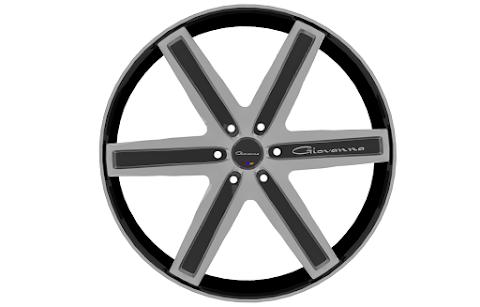 Roda Giovanna Dramuno 6 (3D Model)