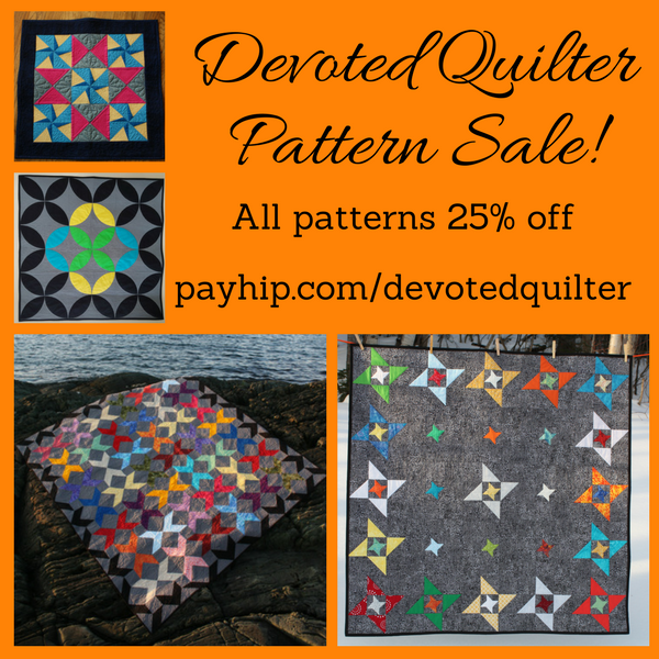 Devoted Quilter Black Friday Pattern Sale | Payhip.com/devotedquilter