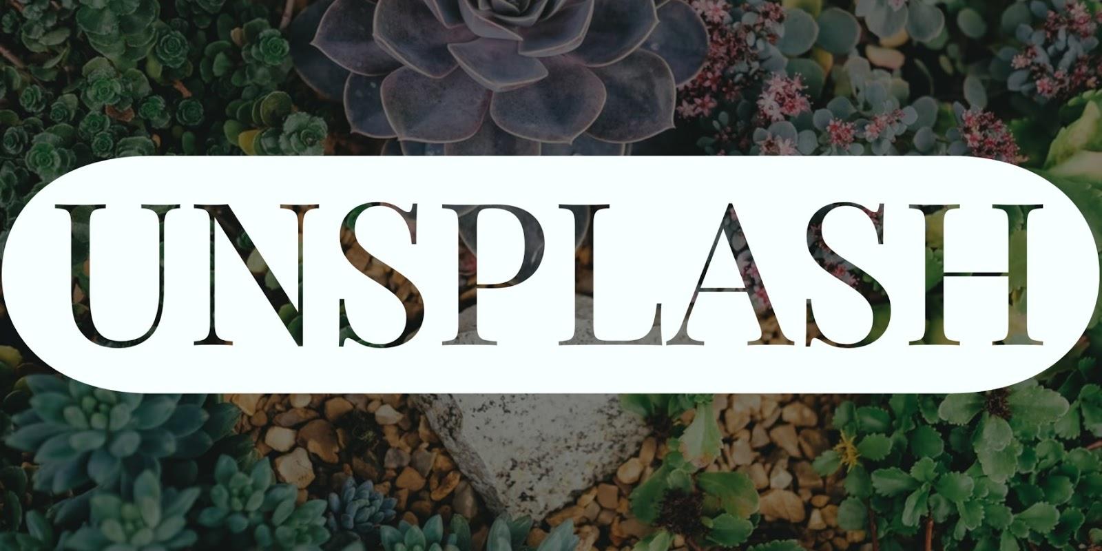 Unsplash - Free Stock Photography Images Sites