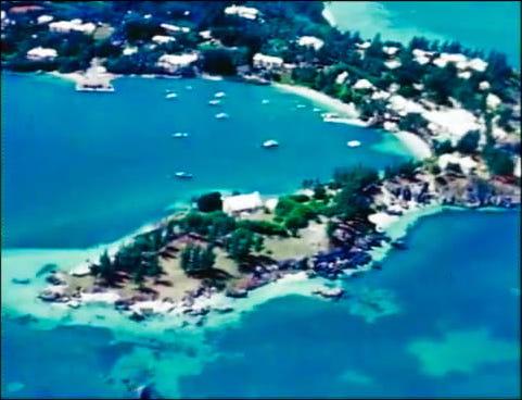 Tucker family home at Kings Point Bermuda