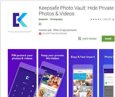 Aplikasi Menyembunyikan Foto dan Video di Android