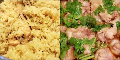 Resepi Nasi Ayam Kukus Halia