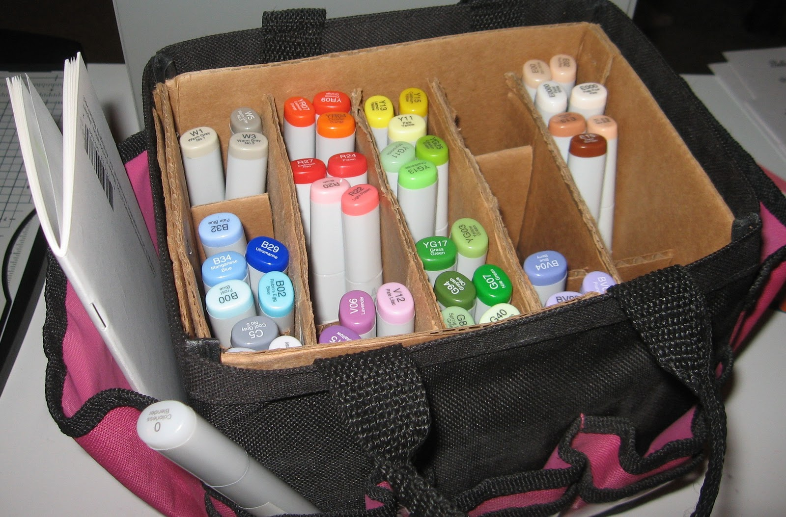 Mousekemom39s Mouseworks Copic Storage Idea