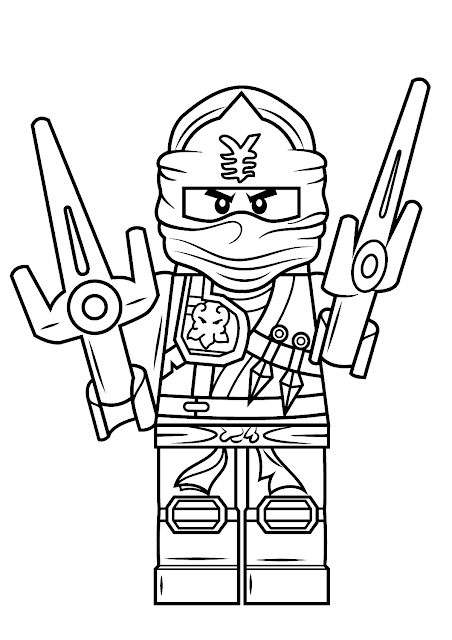 ausmalbilder lego ninjago - lego ninjago zum ausmalen