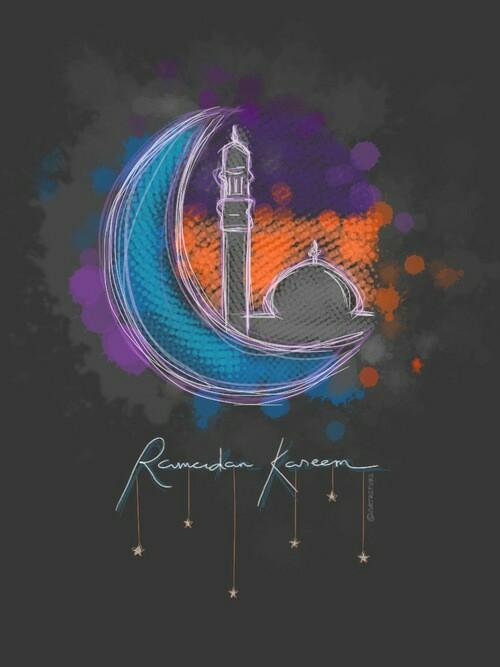 صور هلال شهر رمضان