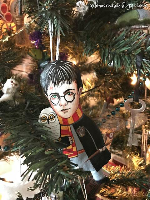 Harry Potter handmade ornament