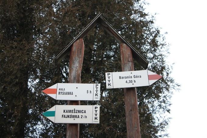 Zimowisko w Beskidzie Śląskim