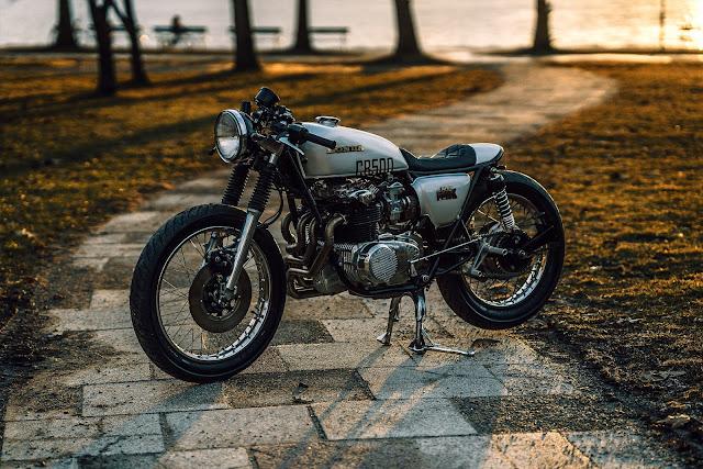 Honda CB500F By NCT Motorcycles Hell Kustom