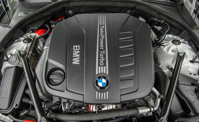 2017 BMW X5 Engine
